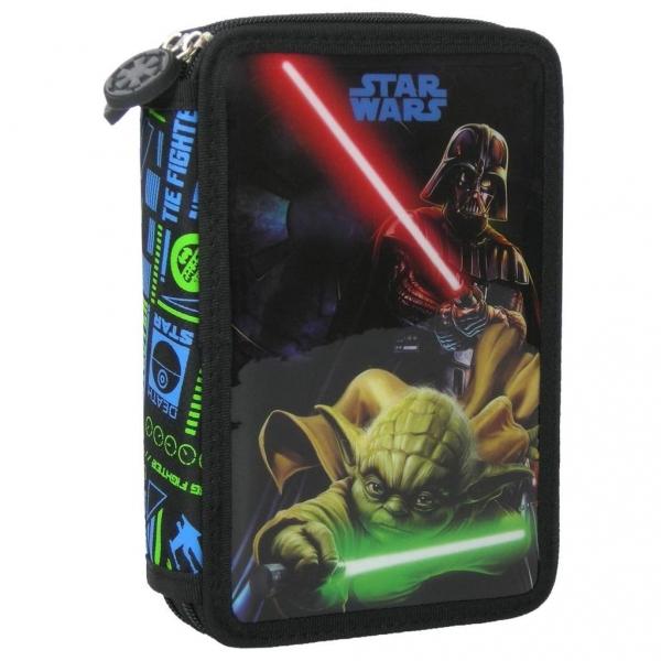 Piórnik z wyposażeniem 2-kom. Star Wars 10 DERFORM
