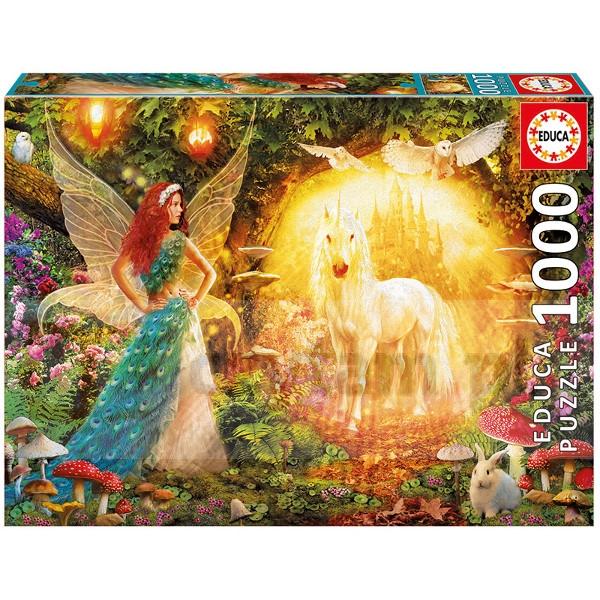 EDUCA 1000 EL. Peacock Feathery Fairy (16750)