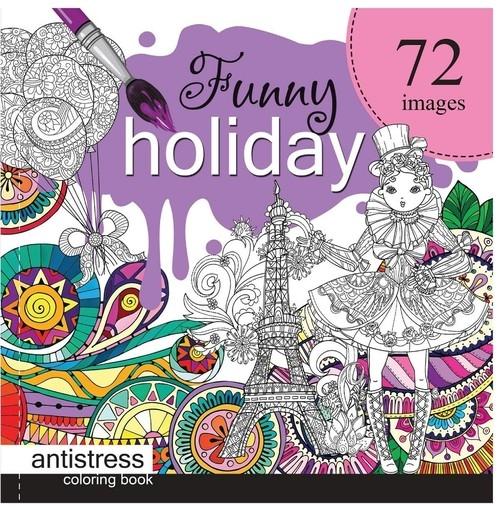 Kolorowanka antystresowa Funny holiday