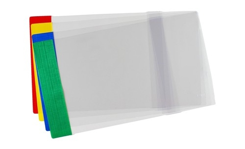 Okładka standard A4 regulowana 25 sztuk mix