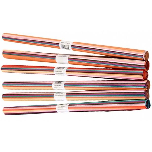 Bibuła gładka Titanum A3/30 x 42cm - kolorowa