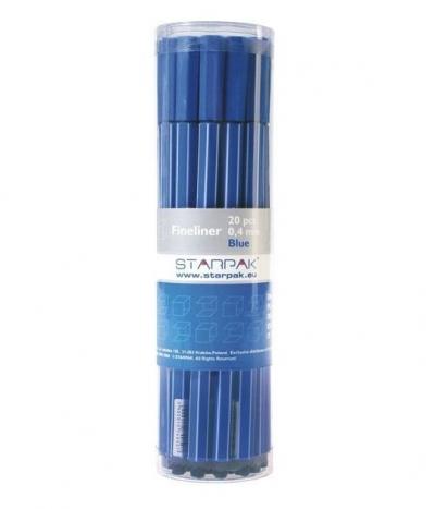 Cienkopis 0,4 niebieski 34819