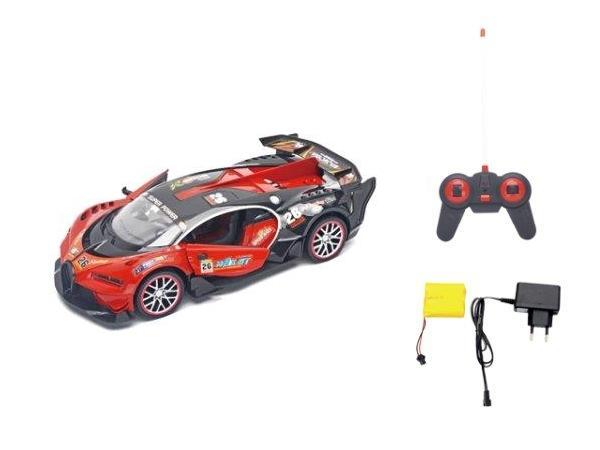 Samochód RC z ładowarką czerwony (101507)