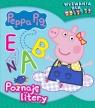 Peppa Pig. Wyzwania dla malucha. Poznaję litery