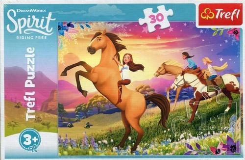 Puzzle 30: Spirit Riding Free Duch wolności