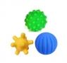 Piłki sensoryczne 3 szt. mix