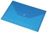 Koperta Focus C330 A4 przezroczysta niebieska