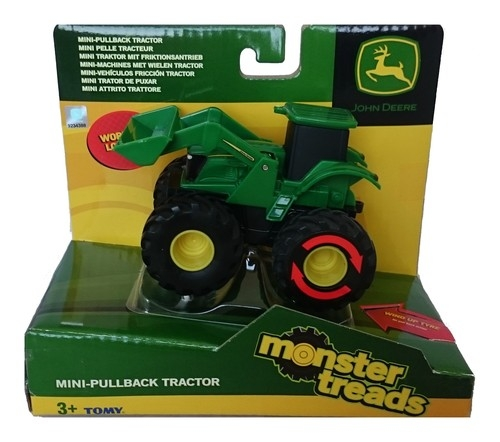 Traktor John Deere Monster treads