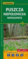 Puszcza Niepołomicka, Niepołomice mapa turystyczna 1:35 000