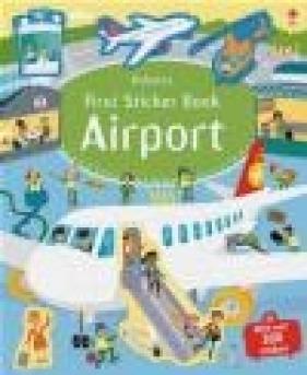 Airport First sticker books