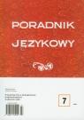 Poradnik językowy 7/2009