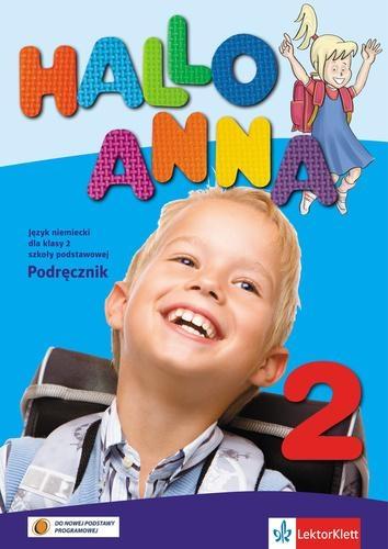 Hallo Anna 2 Język niemiecki Podręcznik + CD Swerlowa Olga