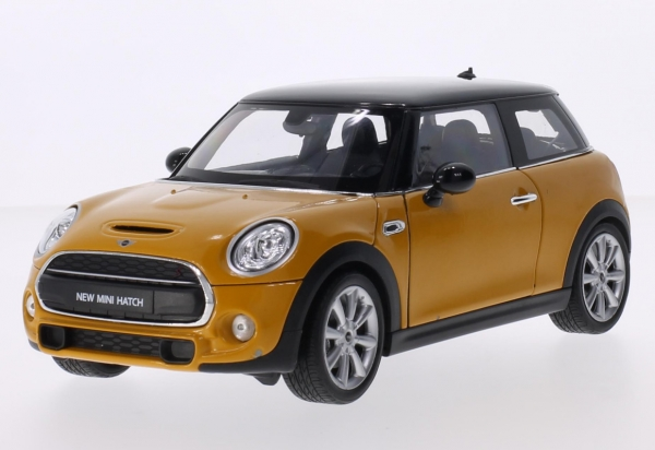 WELLY Mini Cooper S (dark yellow) (18050Y)