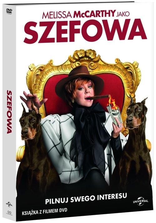Szefowa booklet+DVD Ben Falcone