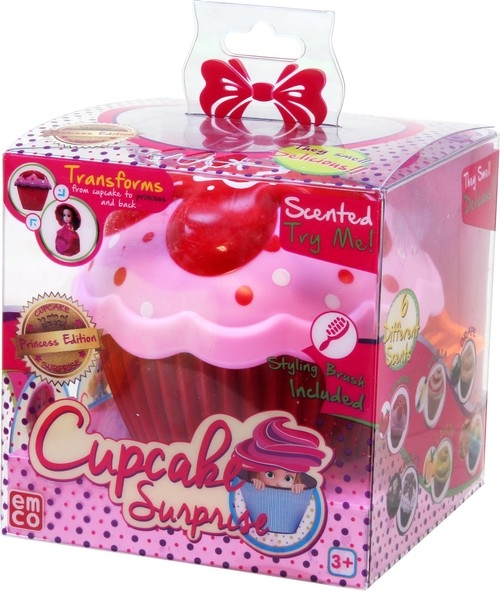 Cupcake Babeczka z niespodzianką Marilyn czerwono-różowa