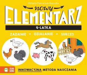 Nowy elementarz 4-latka Pietruczuk-Bogucka Elżbieta