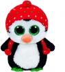 Beanie Boos Freeze - pingwin w kapeluszu średni