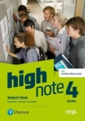 High Note 4. Student's Book + kod (Digital Resources + Interactive eBook + Rachael Roberts, Caroline Krantz, Lynda Edwards