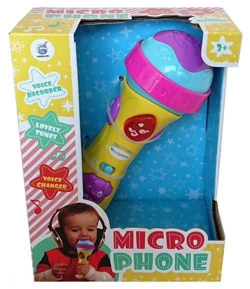 Mikrofon z funkcją nagrywania
