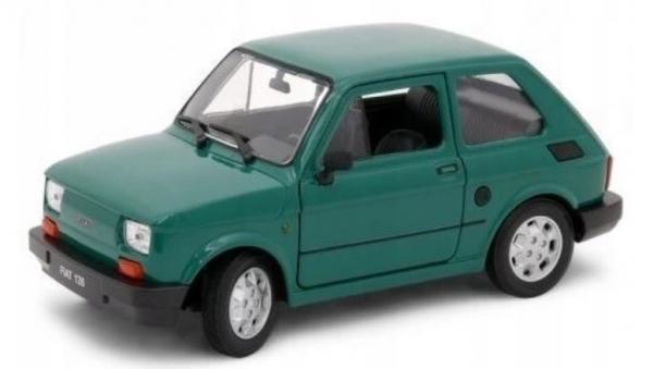 Pojazd Fiat 126P zielony 1:21 (24066-3)