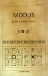 Modus Prace z historii sztuki  VIII-IX