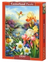 Puzzle 1500 Golden Irises (C-151509)