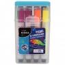 Pisaki ze stempelkami w pudełku 12 kolorów