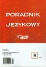 Poradnik językowy 9/2012