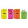Temperówka + gumka Milan Compact Fluo mix kolorów (BYM10380)