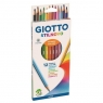 Kredki Giotto Stilnovo, 12 szt. - pastelowe (256500)