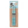Zestaw 4 ołówków Studio Pets niebieski (PEF-9044)