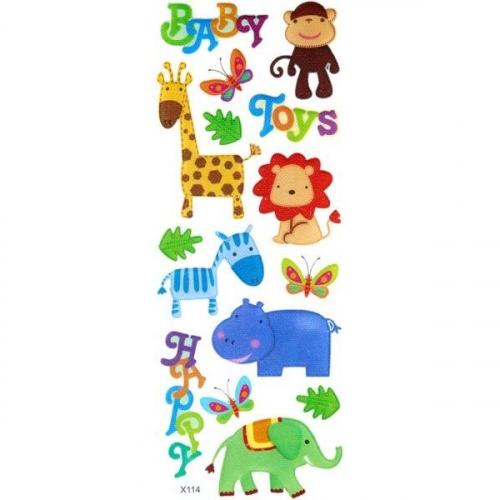 Naklejki do dekoracji zwierzęta afrykańskie (359376)