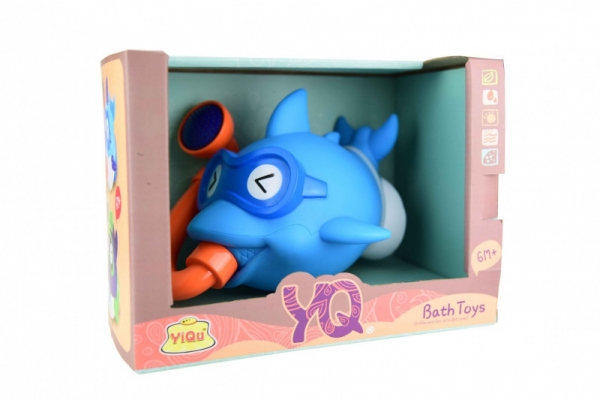 Zestaw zabawek do wody-rybka niebieska (YQ8205-1)