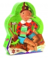 Puzzle postaciowe 50: Pinokio (DJ07251)
