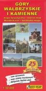 Góry Wałbrzyskie i Kamienne Mapa turystyczna 1:50 000