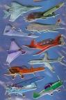 Naklejki 3D Z Design Samoloty
