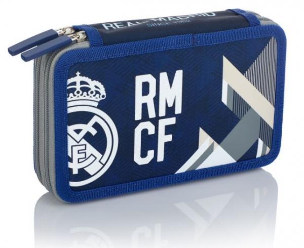 Piórnik podwójny bez wyposażenia Real Madryt (RM-184)