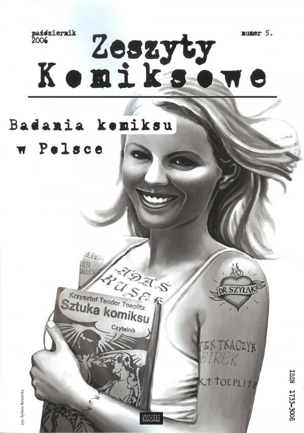 Zeszyty komiksowe 5 Badania komiksu w Polsce PRACA ZBIOROWA