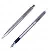 Komplet Zenith Omega Silver - pióro wieczne + długopis
