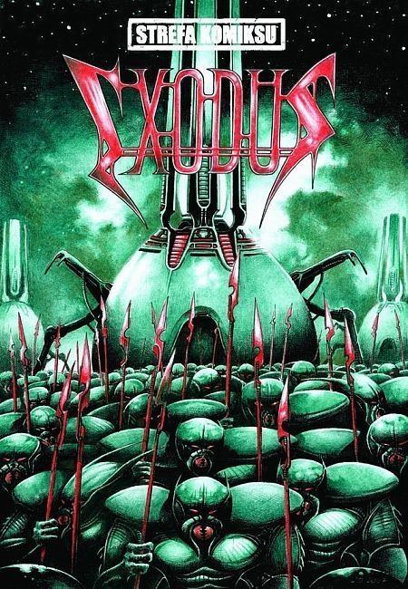 Strefa Komiksu T.22 Exodus cz.1 Robert Zaręba, Jacek Brodnicki