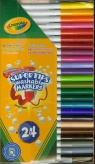Flamastry Crayola zmywalne 24 sztuk (7551)