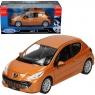 WELLY Peugeot 207, pomarańczowy (WE22492)