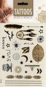 Tatuaż Golden&Metalic