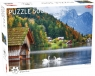 Puzzle 500: Swans on a Lake