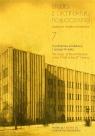 Studia z Architektury Nowoczesnej T.7 red. Joanna Kucharzewska