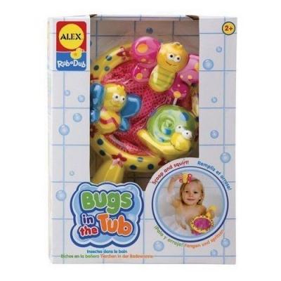 Zabawki do kąpieli - robaczki ALEX