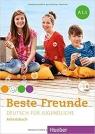 Beste Freunde A1.1 AB + CD w.niemiecka HUEBER praca zbiorowa