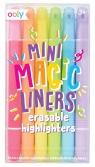 Wymazywalne zakreślacze Mini Magic Liners