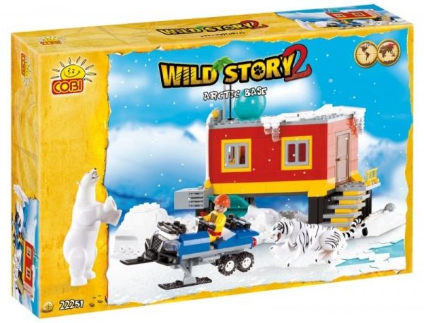 Wild Story Baza arktyczna 250 ELEMENTÓW