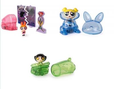 Atomówki Figurki z pojazdem, różne rodzaje